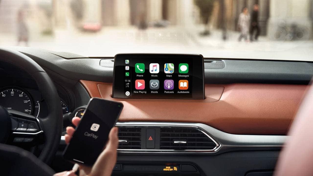 2019 Mazda CX-9 Mazda Connect with Apple CarPlay