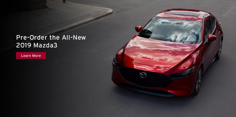Pre-order the 2019 Mazda3