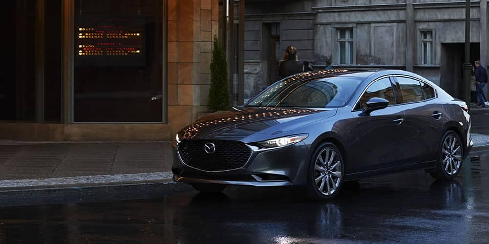 2019-mazda-3-sedan-parked in city
