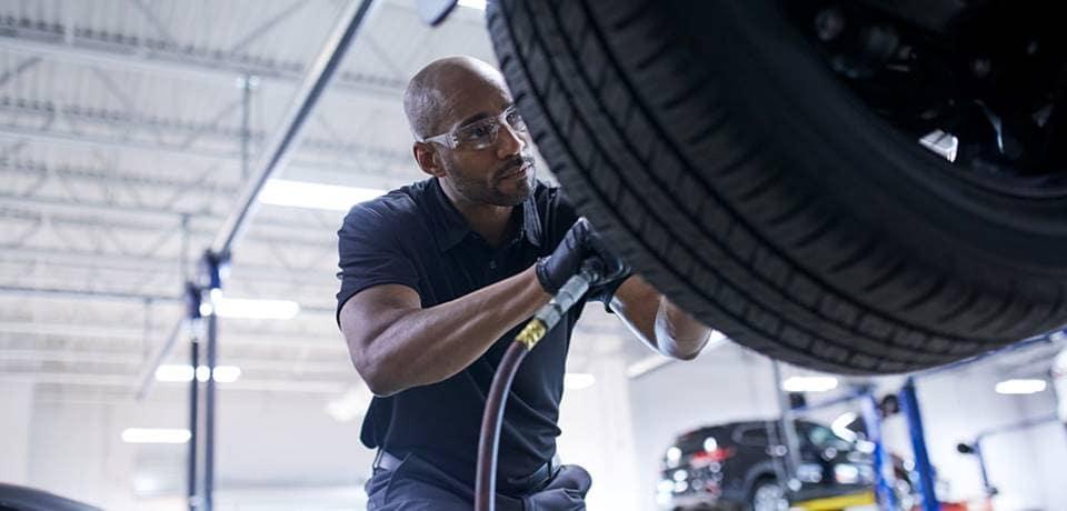 Mazda Tire Rotation