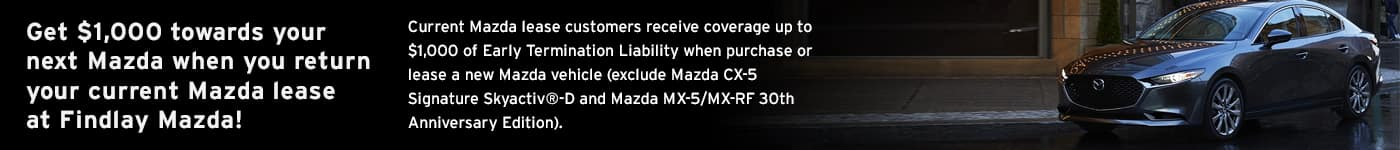 Lease Return at Findlay Mazda