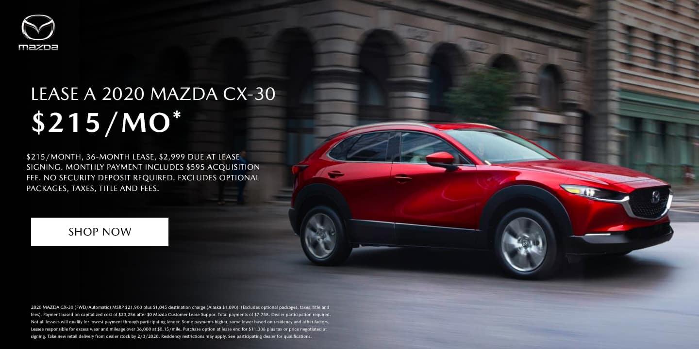 Mazda Cx-30 lease