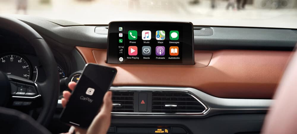 apple carplay in 2019 Mazda CX-9