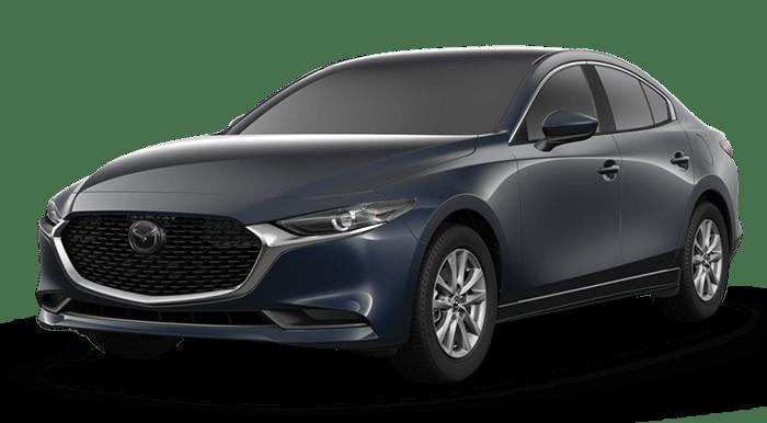 2020 Mazda3 Sedan Blue