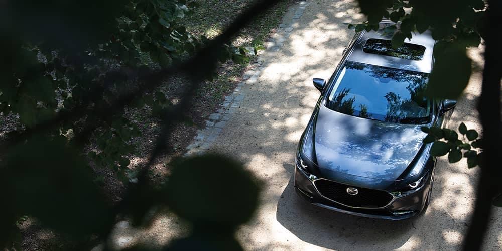 2020 Mazda3 Sedan Top View