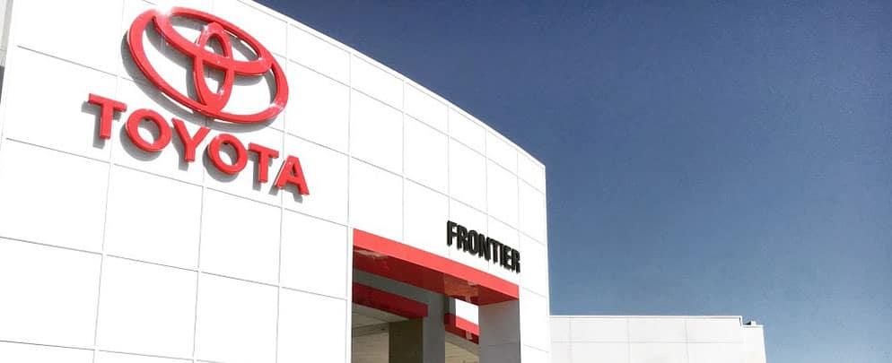 Frontier Toyota Banner