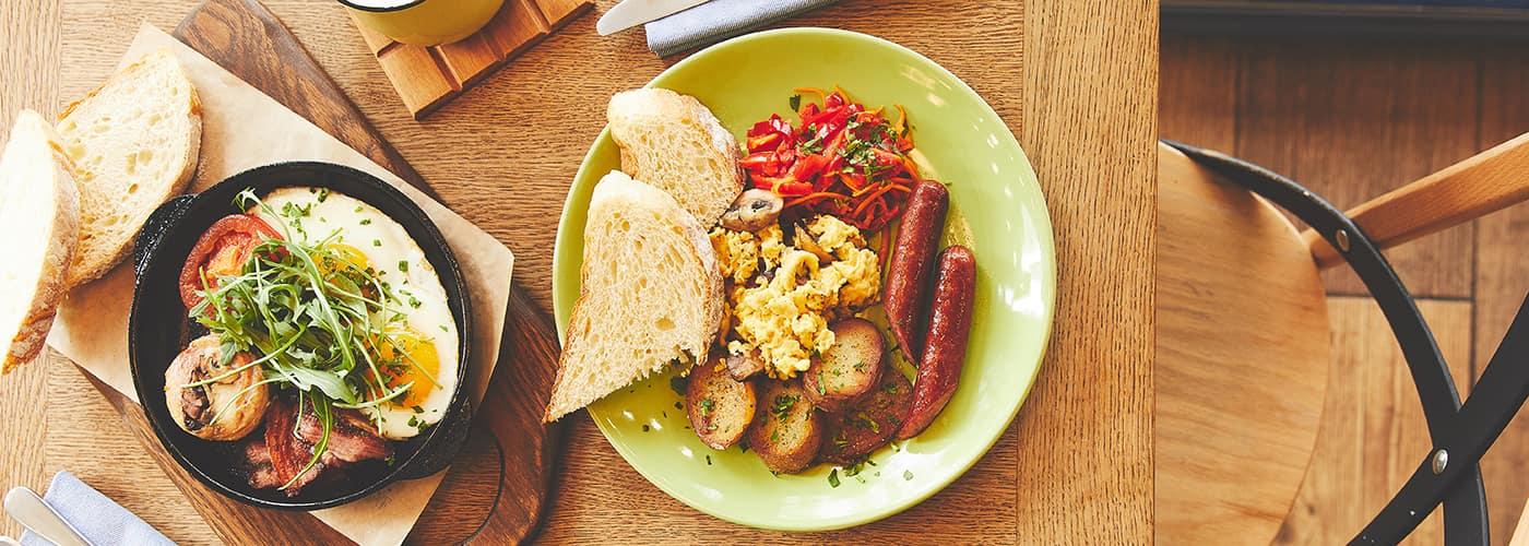 breakfast in San Fernando Valley
