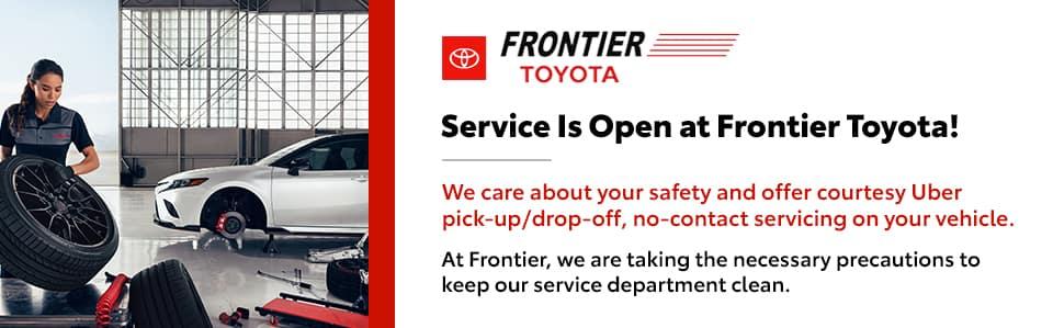 Service is Open!