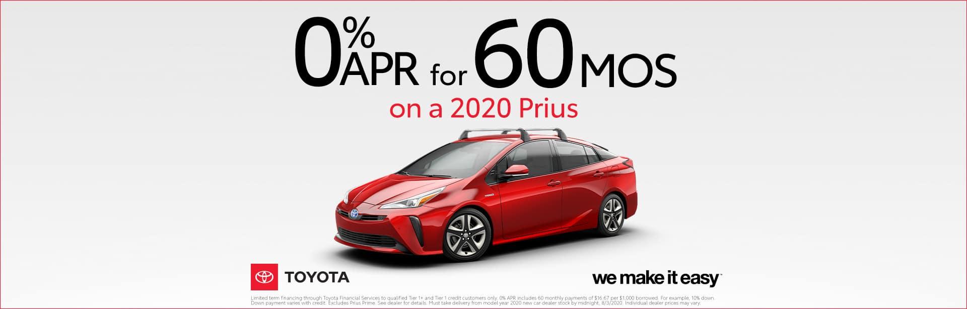 Prius 0%