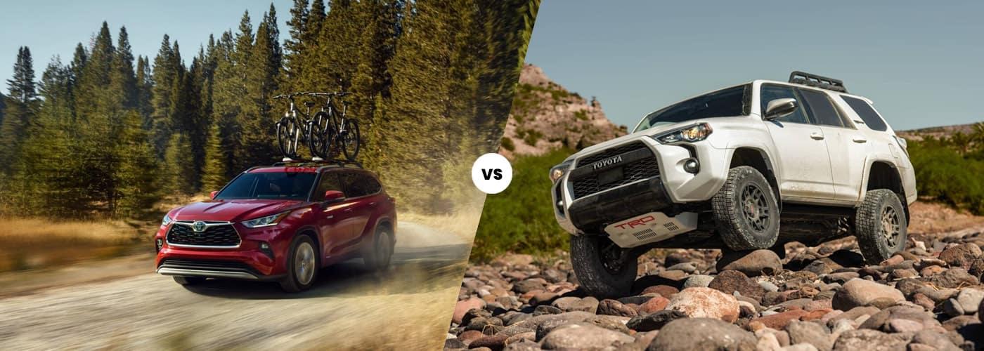2020 Toyota Highlander vs 2020 Toyota 4Runner