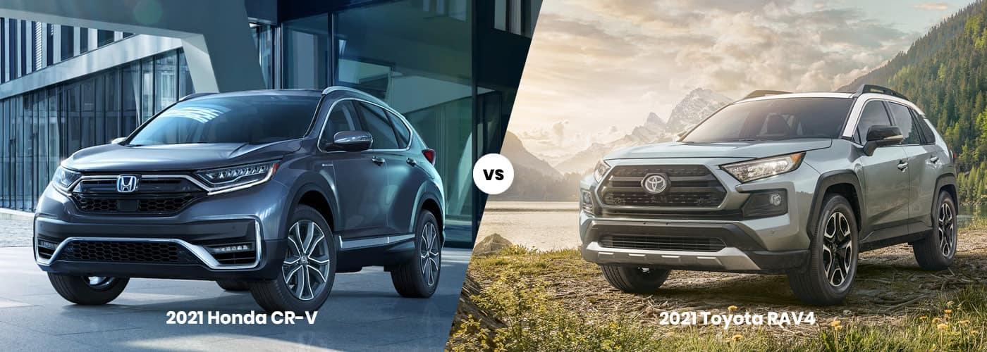 2021 Toyota Rav4 vs 2021 Honda CR-V