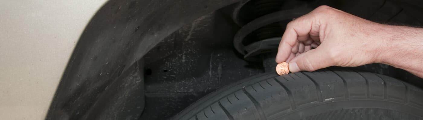 tire with penny test