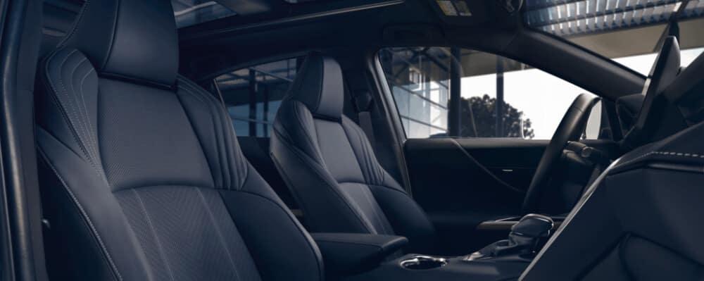 2021 Toyota Venza interior front seat
