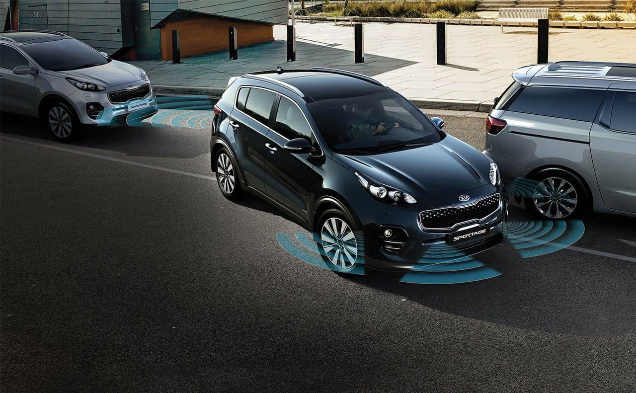 2019 Kia Sportage front and rear park assist