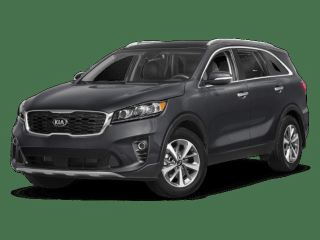 2019 Kia Sorento in charcoal grey