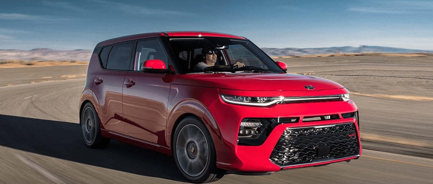2020 Kia Soul driving