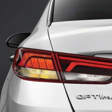 2019 Kia Optima rear lights