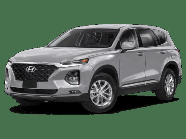 2019 Hyundai Santa Fe in white