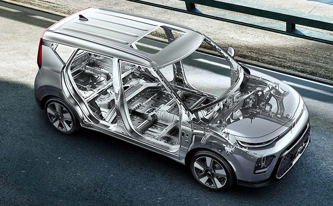 2019 Kia Soul skeleton