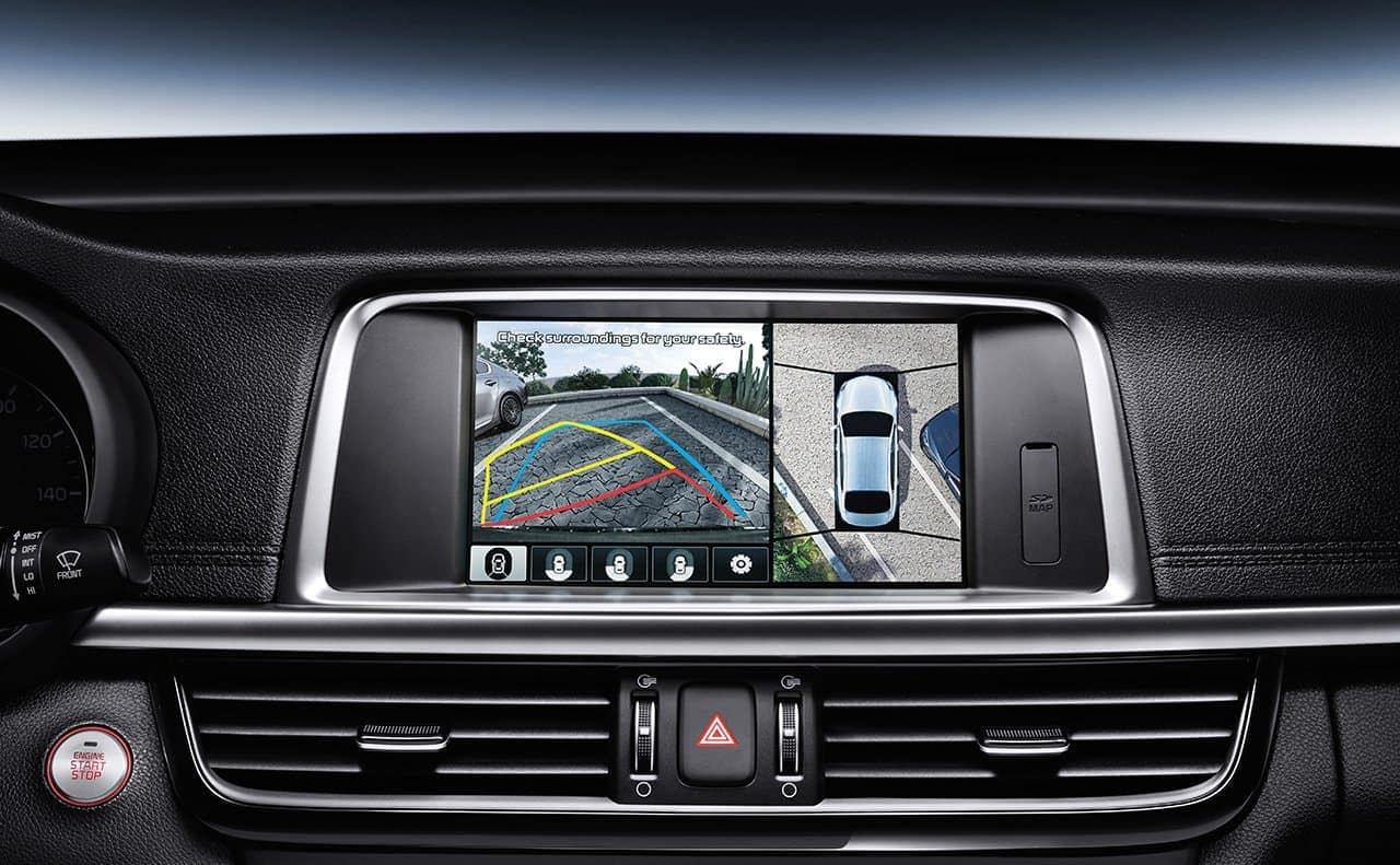 2019 Kia Optima safety rear camera feature