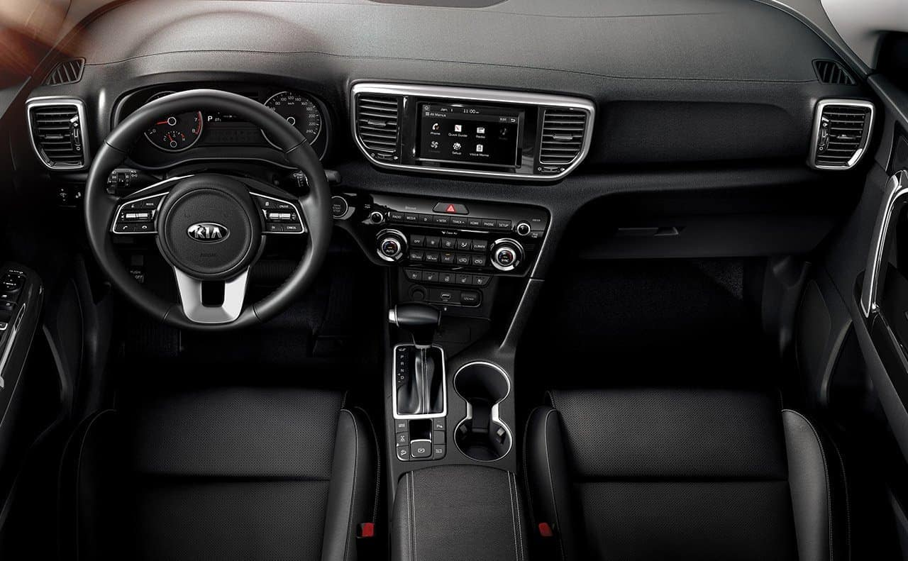 2019 Kia Sportage interior dashboard