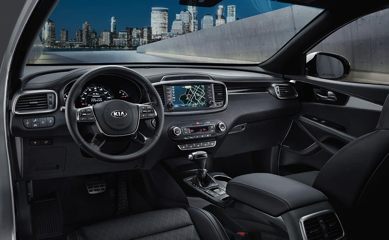2019 Kia Sorento interior dashboard