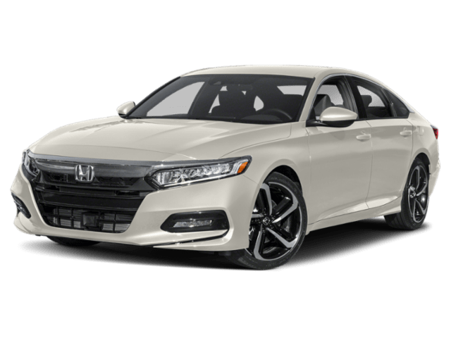 2019 Honda Accord in white