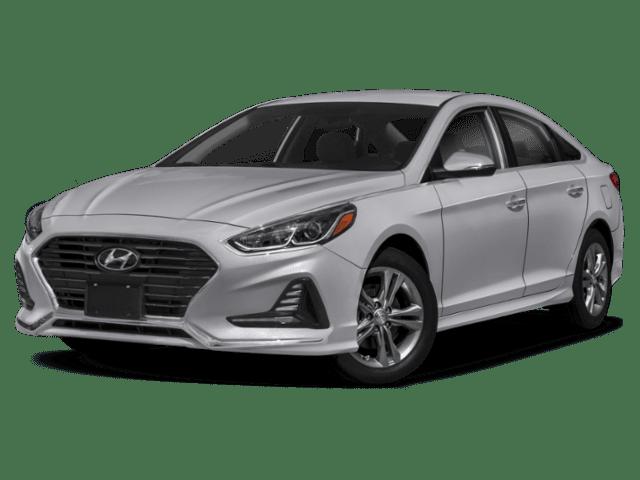 2020 Hyundai Sonata in silver