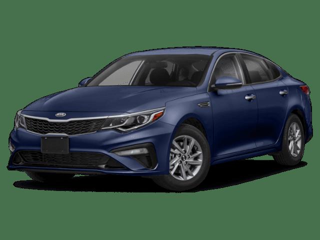 2020 Kia Optima in blue