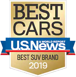 2019 U.S. News & World Report Best SUV Brand Award