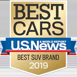 2019 U.S. News & World Report Best SUV Brand Award