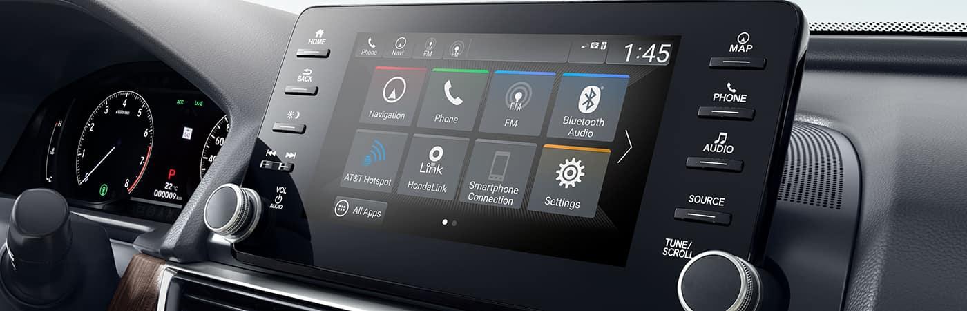 HondaLink App Display Screen