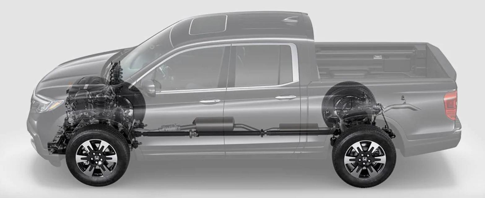 2019 Honda Ridgeline Components