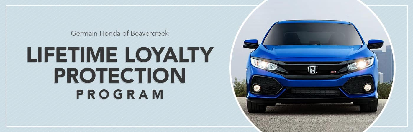 Honda Lifetime Loyalty Protection Program in Dayton, Ohio
