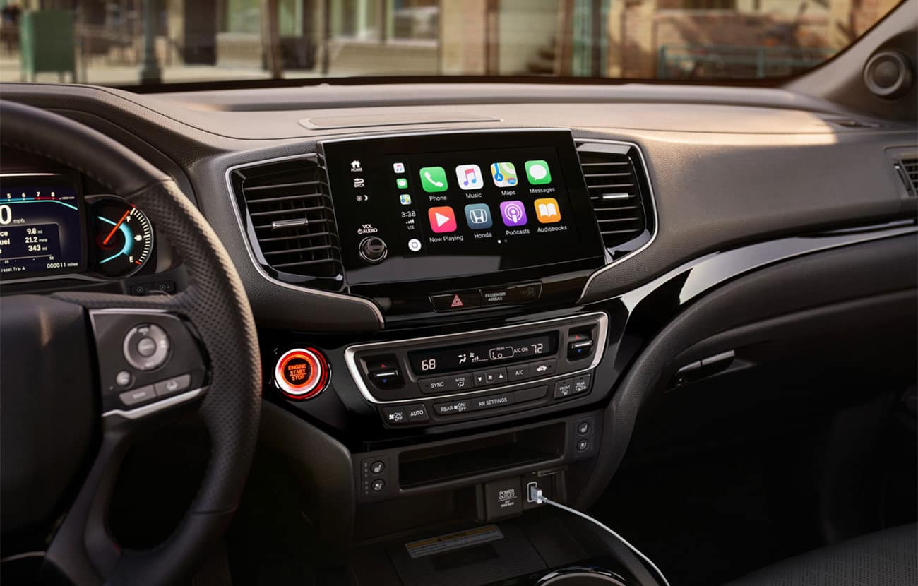 2020 Honda Passport Display Audio System