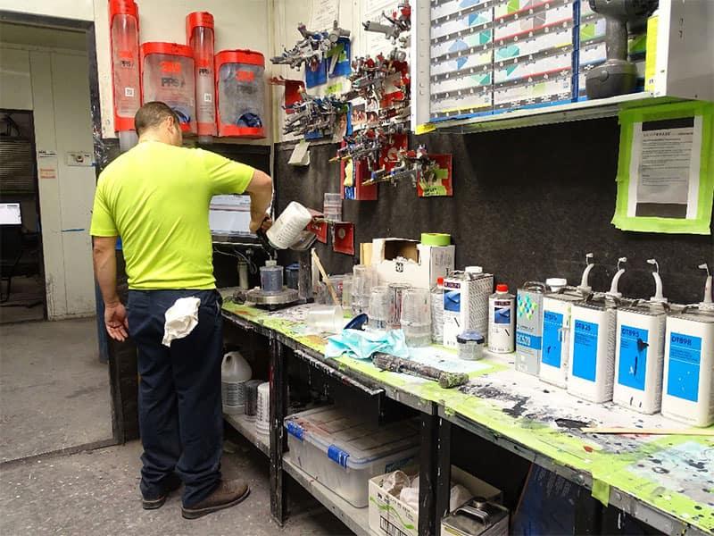 Body Shop at Germain Honda of Beavercreek