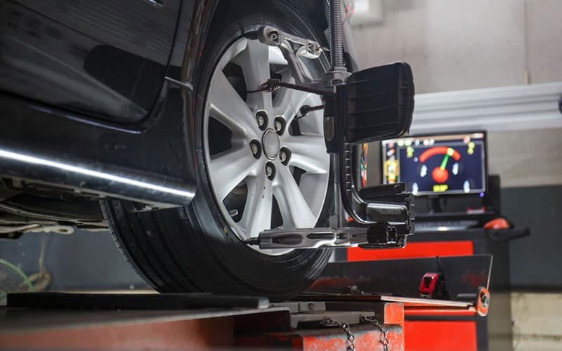 Honda Wheel Alignment Machine
