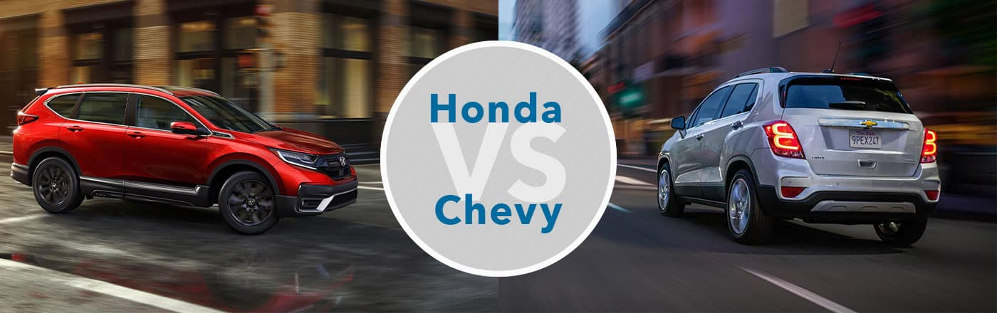 Honda vs. Chevy Brand Comparison