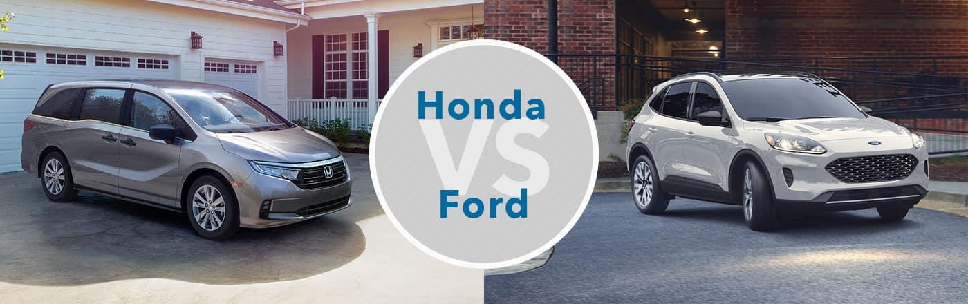 Honda vs. Ford Brand Comparison