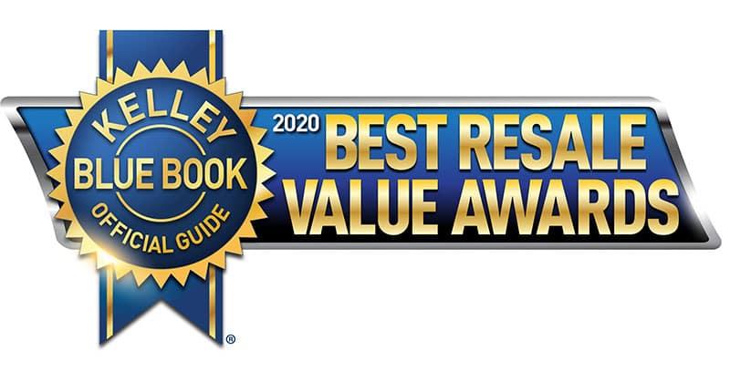 Kelley Blue Book Best Resale Value Awards