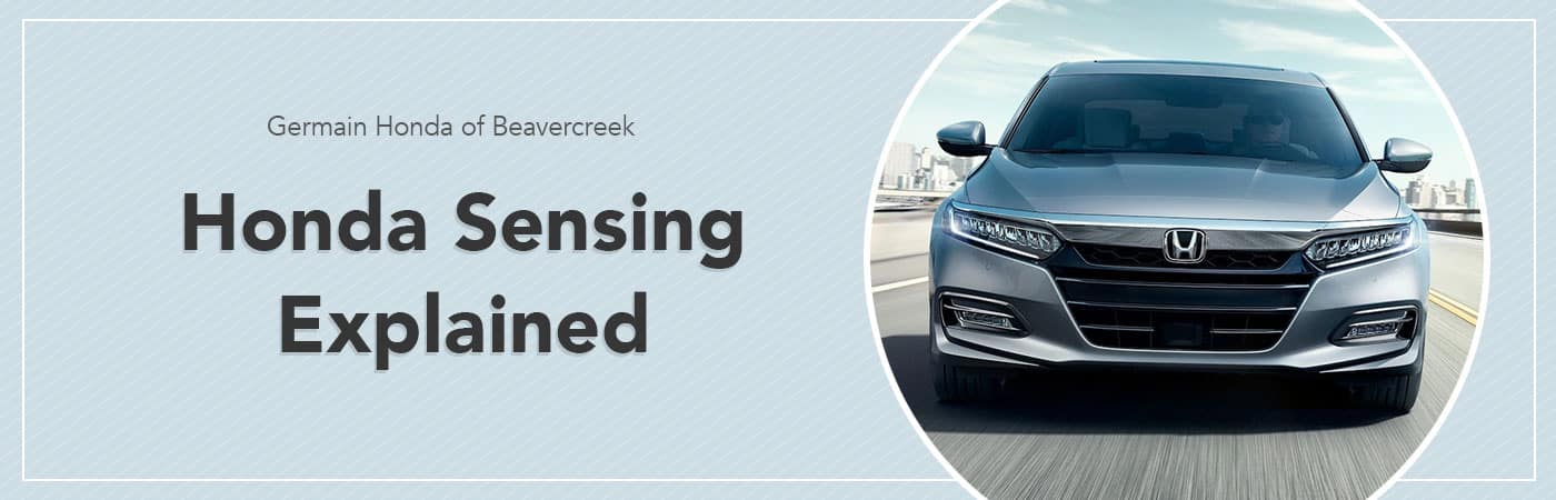 Honda Sensing Overview - Germain Honda of Beavercreek