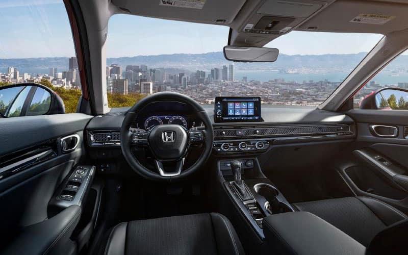 Honda Civic Sedan Interior