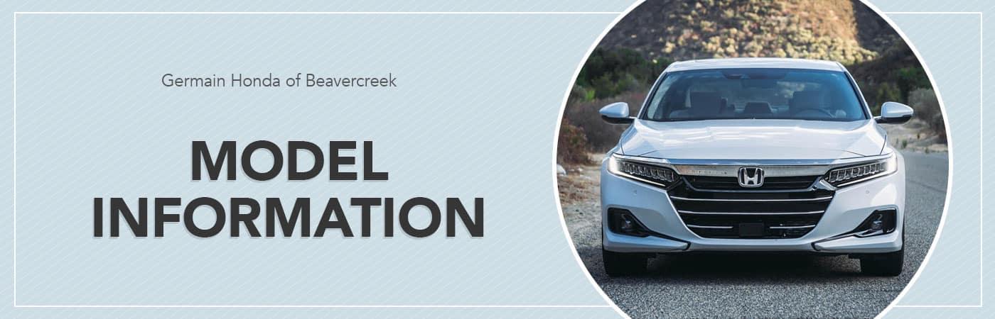Honda Model Information Hub | Germain Honda of Beavercreek