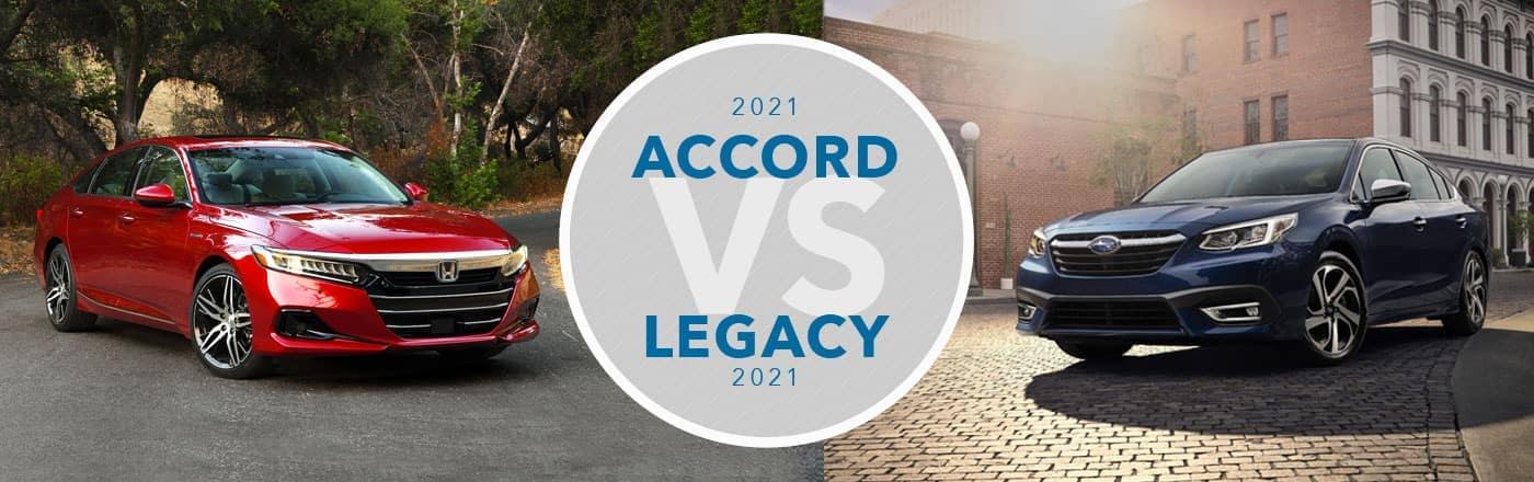 Honda Accord vs Subaru Legacy