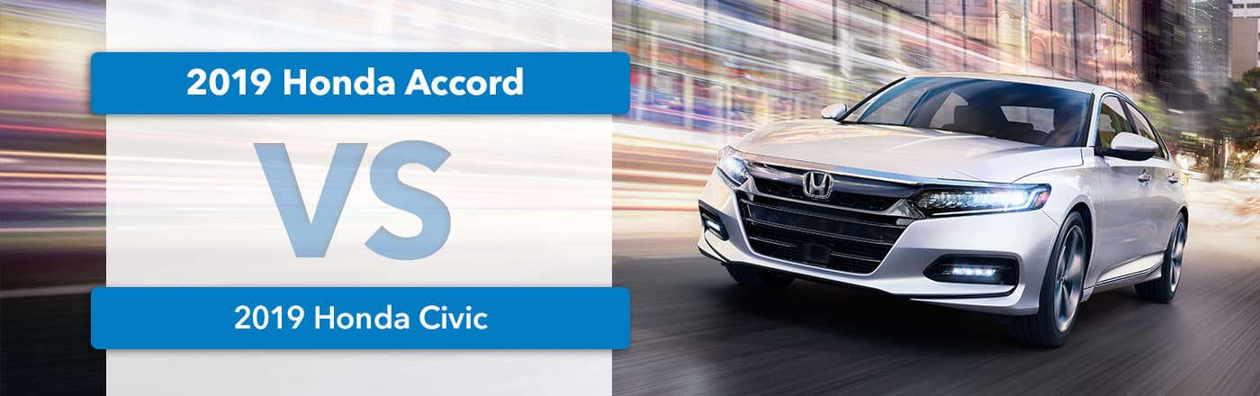Honda Civic vs Accord Comparison at Germain Honda of Dublin