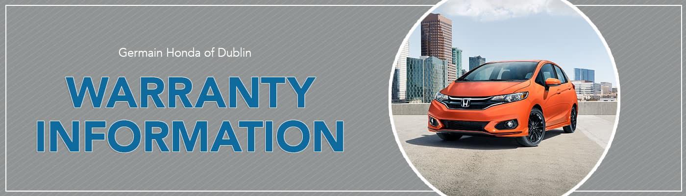Honda Warranty Information
