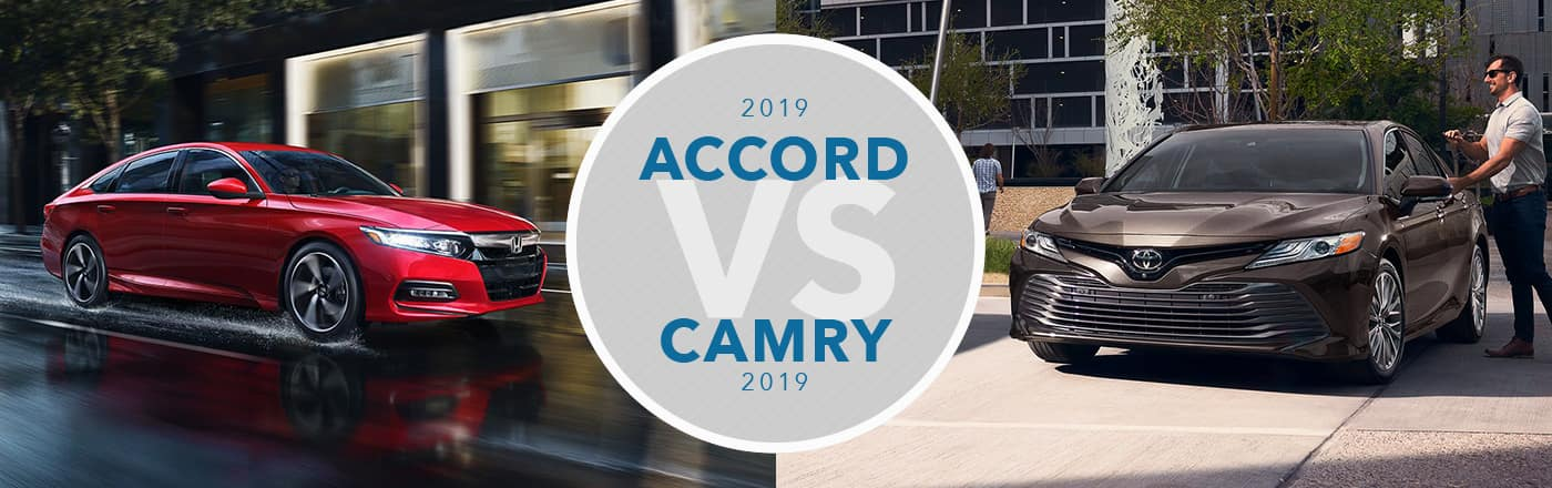 Honda Accord vs Toyota Camry at Germain Honda of Dublin