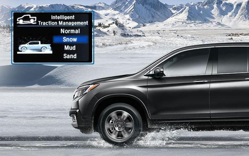 Honda Intelligent Traction Management