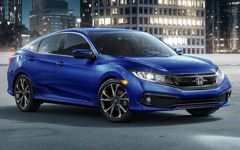 Honda Civic Blue