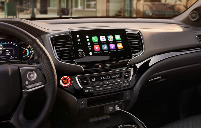 2020 Honda Passport Display Audio System
